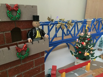 Sir Topham at the castle